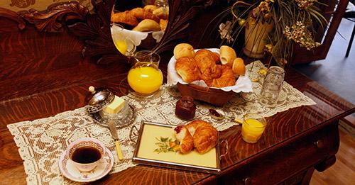 Les déjeuners sont inclut à l'hôtel Cap Diamant