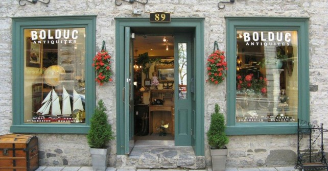 Old Quebec Antiques and Gastronomy package
