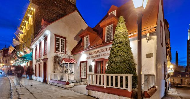 Our Favorite Restaurants Hotel Old Quebec Accommodation B B Or